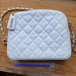 authentic Chanel vintage cavier bag
